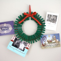 Candy Cane Wreath {Try that Tuesday}